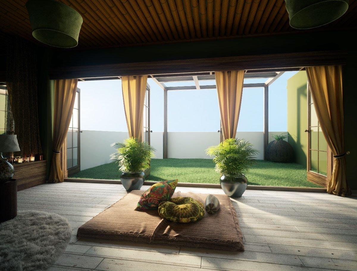 Как создать комнату для медитации?
