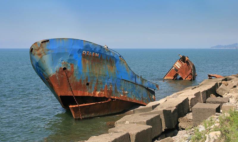 Брошенные корабли