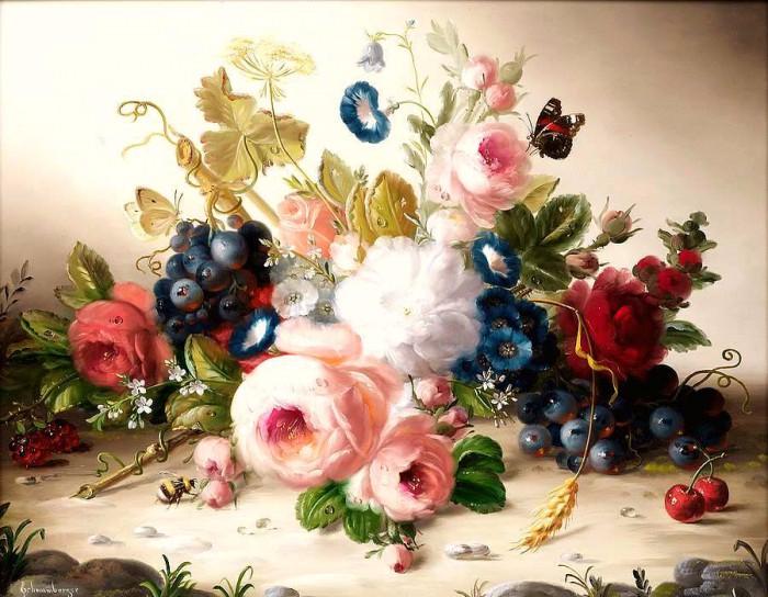 Элегантные натюрморты от Hildegard Schwammberger
