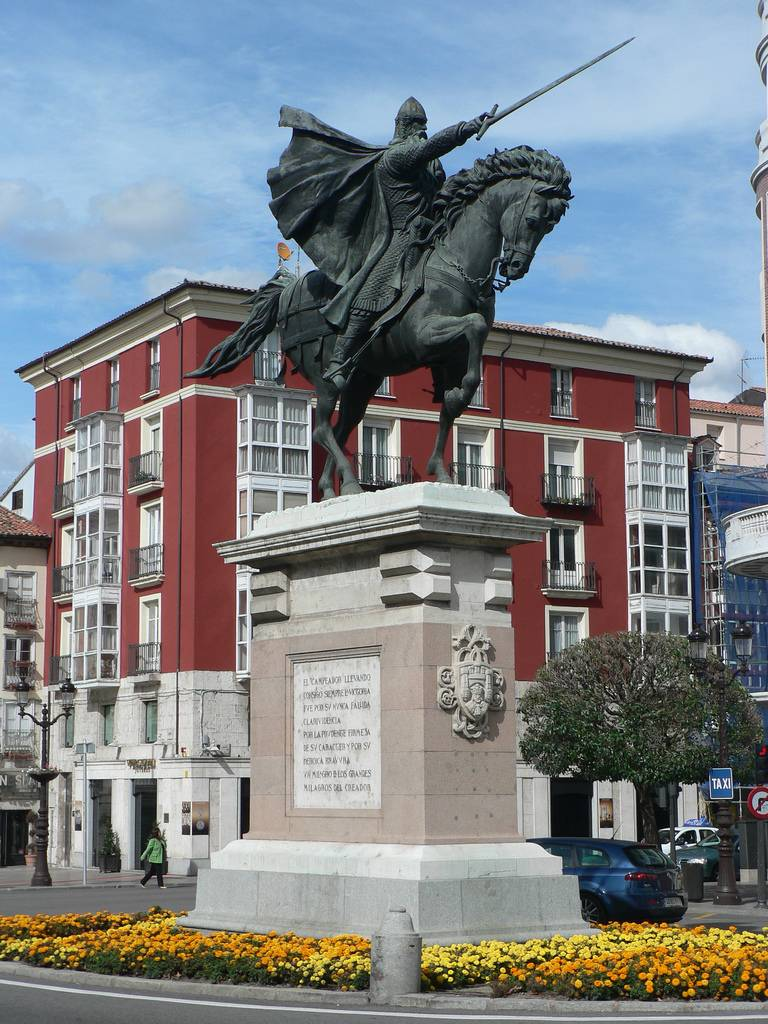el cid El cid he was born rodrigo (or ruy) díaz de vivar el cid was brought up in the court of king fernand i and he lived in the household of the king's eldest son, who was to be the future sancho ii.