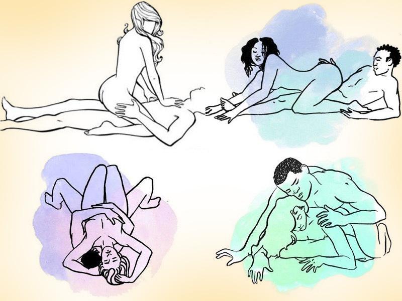 Поза секса удар топором