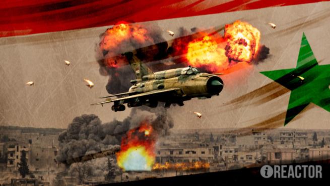 Авиация САР сорвала наступление боевиков жесточайшими авиаударами