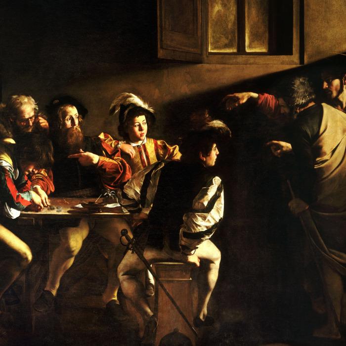 Призвание апостола Матфея. \ Фото: goodfon.ru.