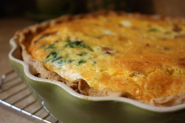 Пирог с грибами - вкусно и полезно!