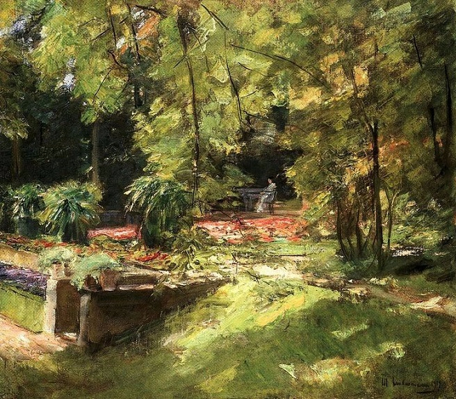 + The Flowers Terraces in the Wannsee Garden at Southwest. c.1919 (656x574, 496Kb)