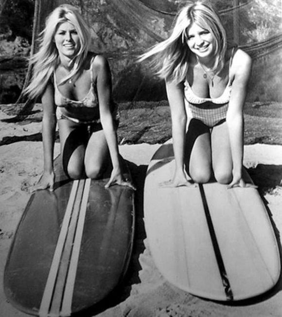 Девушки и серфинг