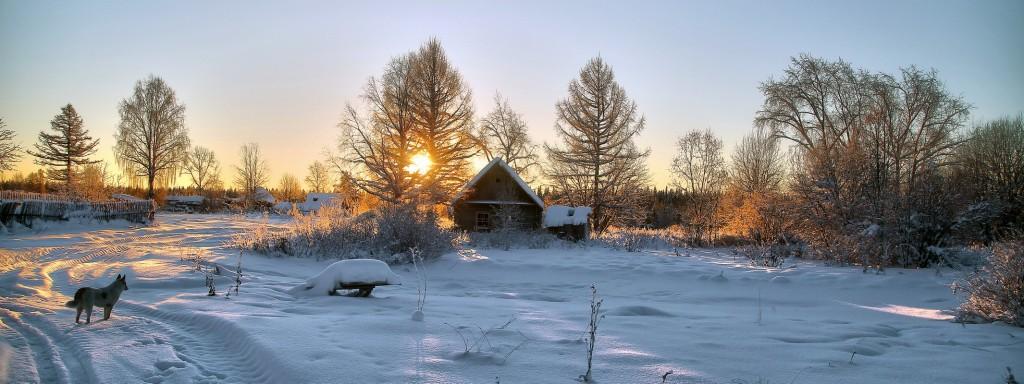 холодное утро