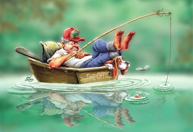 Больше Сережу на рыбалку мы не берем
