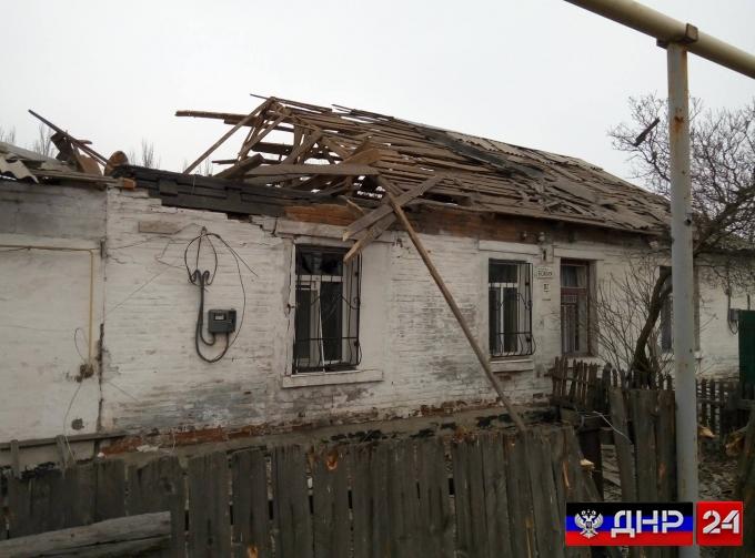 Жители ДНР, чьи дома повреждены обстрелами, освобождены от оплаты услуг ЖКХ