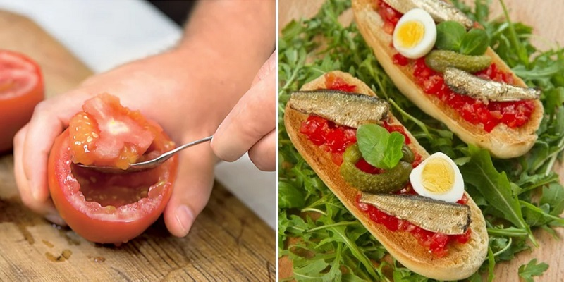 Праздничные бутерброды вкусные новости,закуски,кулинария,рецепты