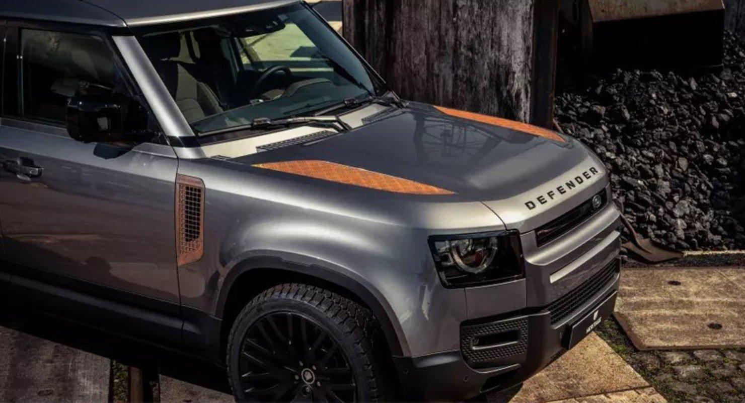 Для новой модели Land Rover Defender выпустили набор ржавых деталей Автомобили