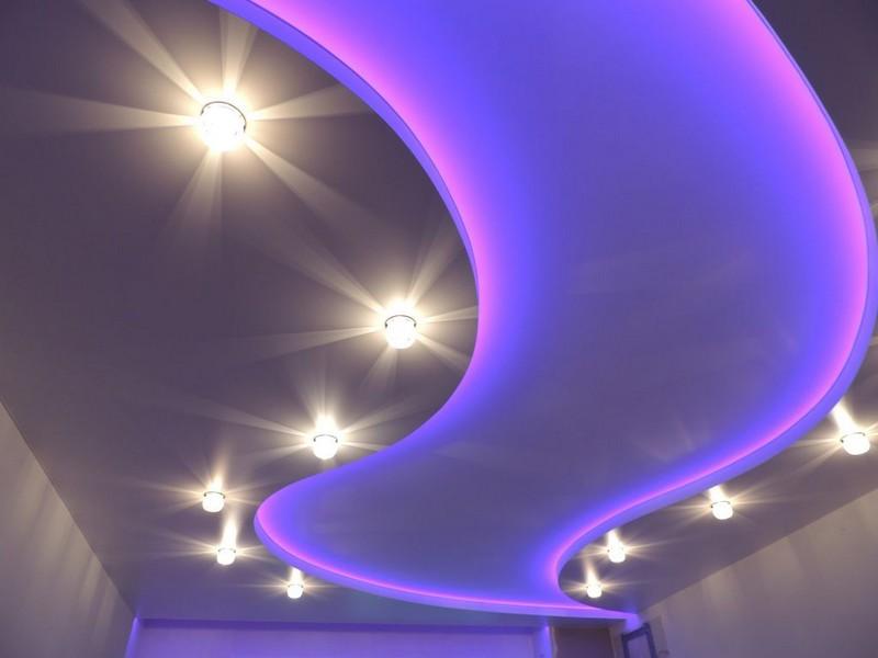 светящийся потолок фото