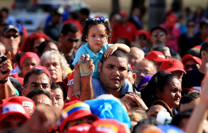 жители венесуэлы фото
