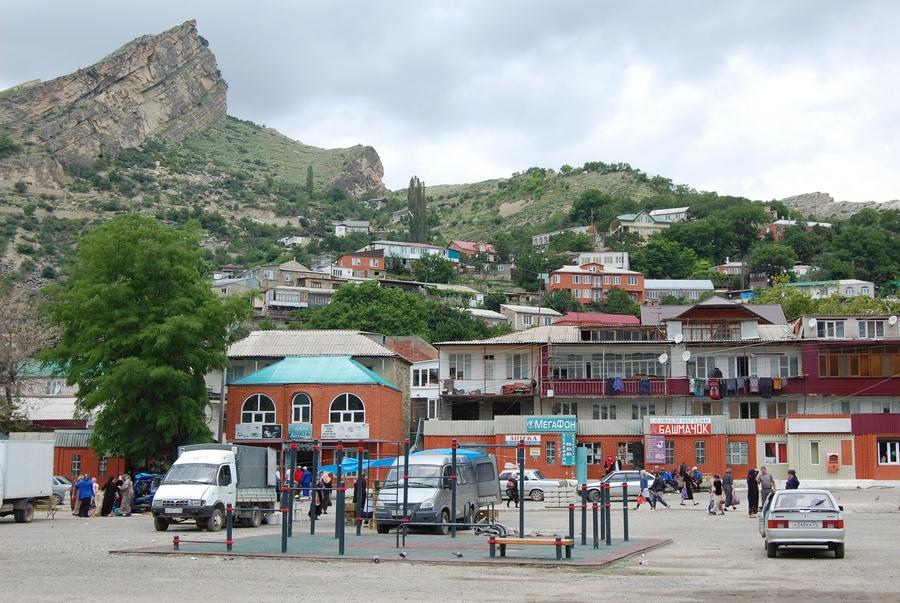 Прогулка по селу Гуниб