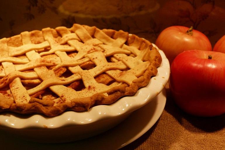 Изумительный американский пирог с яблоками: к чаю и кофе