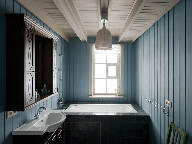 Кантри Ванная комната by Dacha-buro