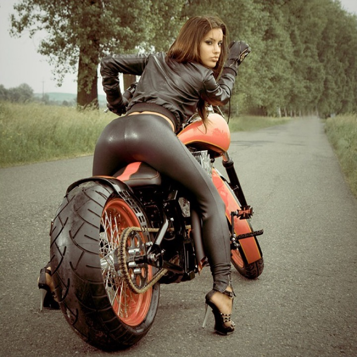 Motorcycle nude woman, little xxx girls