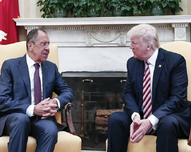 Лавров раскрыл детали часового общения с Трампом по Сирии