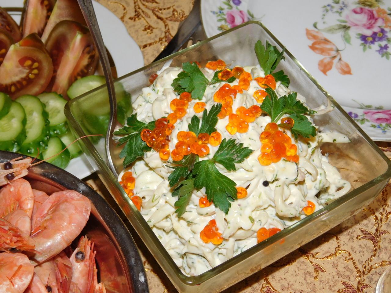 судьбе салат кремлевский рецепт с фото народные