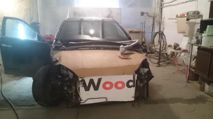 Потрясающая ГАЗ М-20 Победа, сделанная из новенькой Honda Crosstour