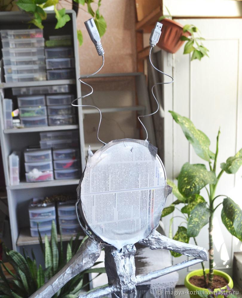 Создаем необычную напольную вешалку, фото № 11