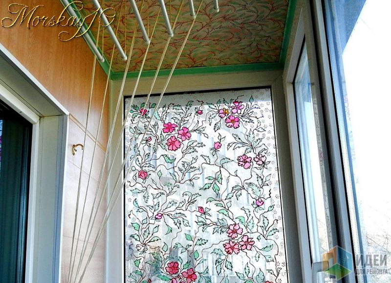 А на нашем балконе всегда весна!