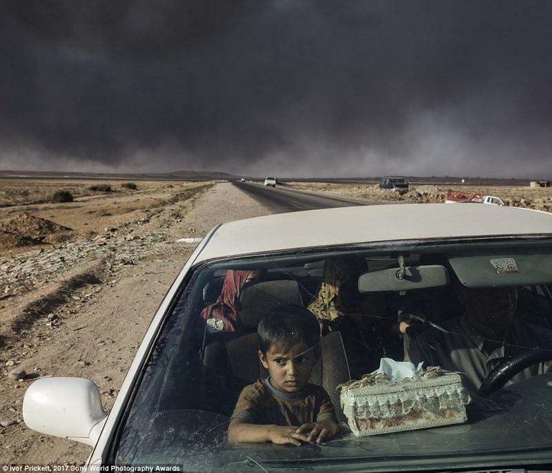 Около КПП иракской армии, Кайяра, Ирак в мире, дети, жизнь