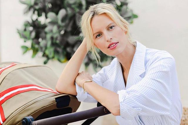 Каролина Куркова стала мамой в третий раз