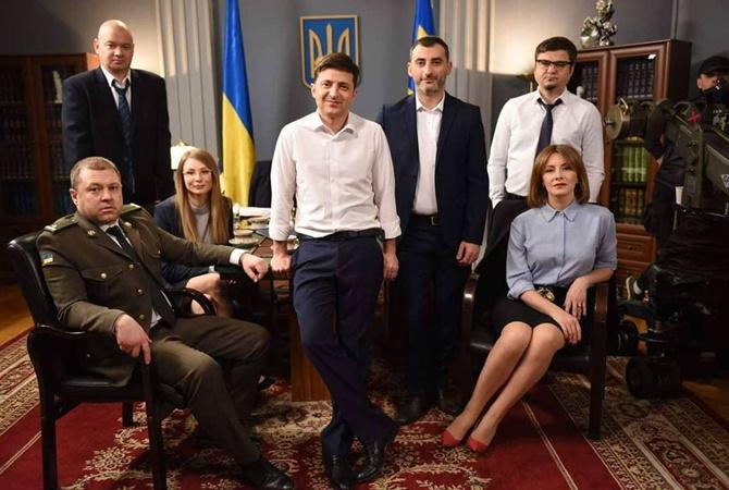 Зеленский охватил своим сериалом 10 миллионов украинцев – по ТВ и в интернете новости,события, общество