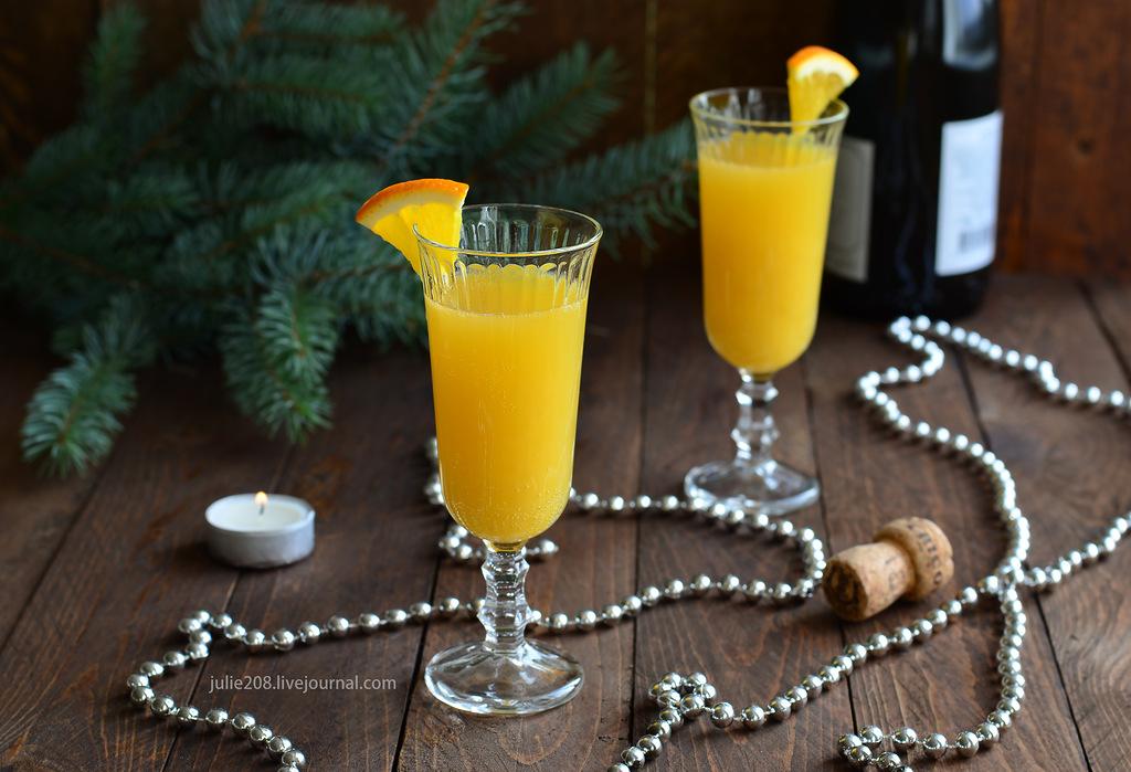 Пять рецептов новогодних коктейлей