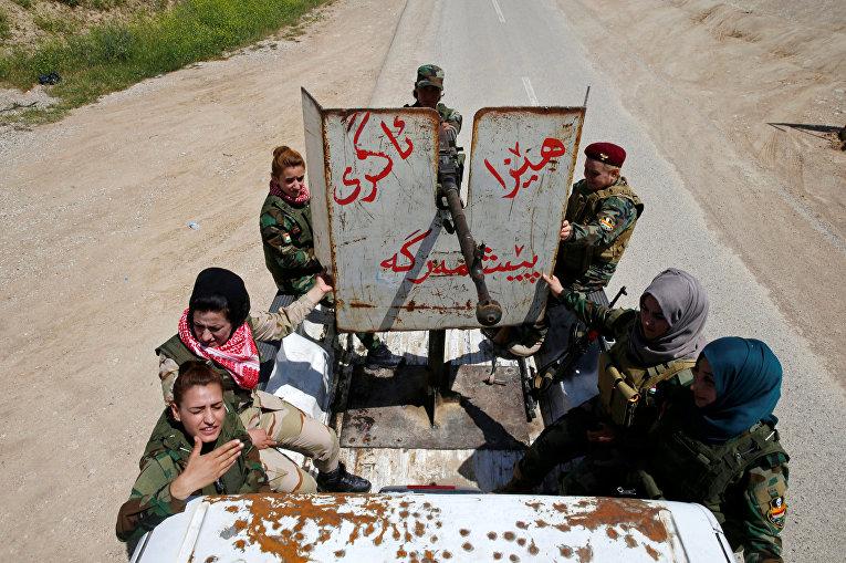 Женщины, которые воюют против ИГИЛ