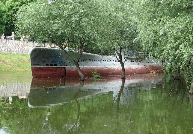 Угон подводной лодки с Затона