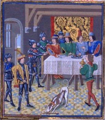 История о том, как король Наварры сгорел заживо из-за бухла интересное,интересные люди,интересные факты,история,факты
