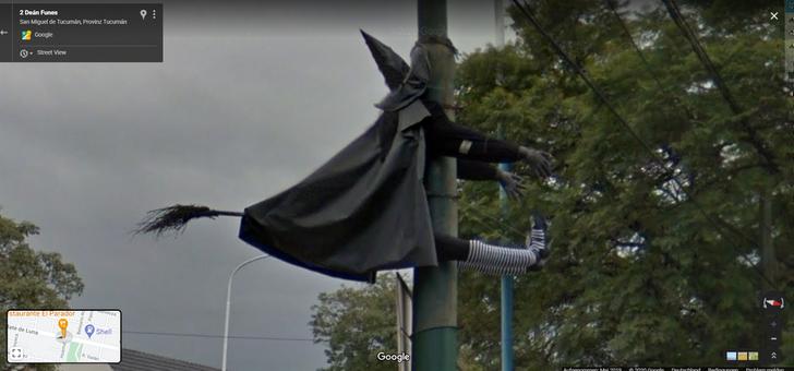 Забавные снимки с Google Maps, сделанные по всему миру