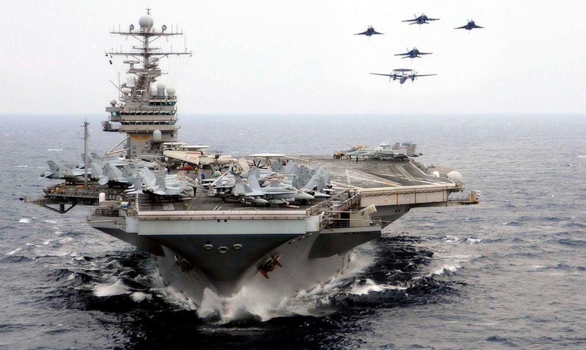 Пентагон при виде русских тырит авианосы по карманам