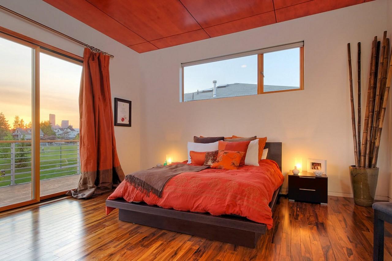 Яркий текстиль для спальни