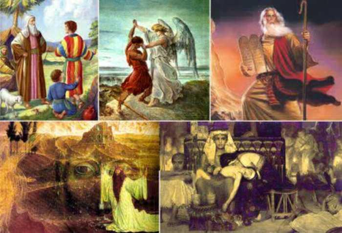 В Библии подробно изложена история еврейского народа.
