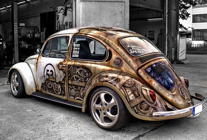 15 креативных машин от творческих автовладельцев авто,автомобили,юмор