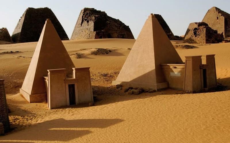 И в Судане есть пирамиды! история, пирамиды, тайны
