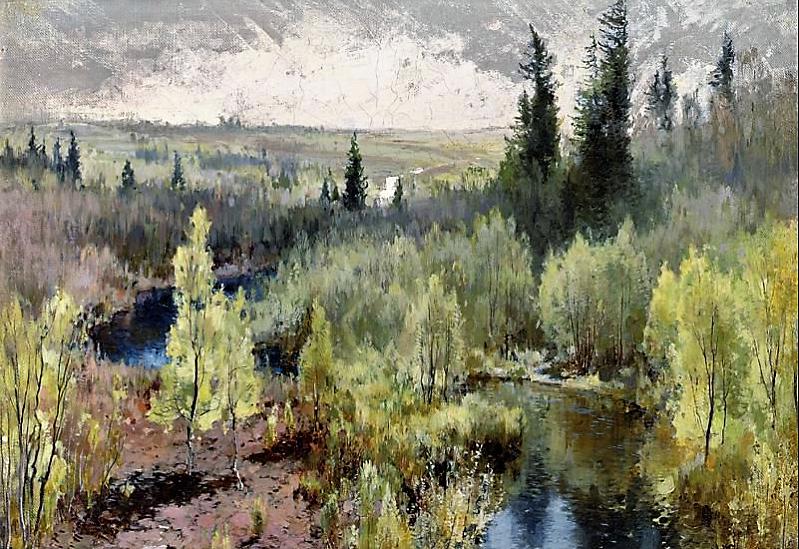 """""""Лес"""", 1890, холст, масло"""