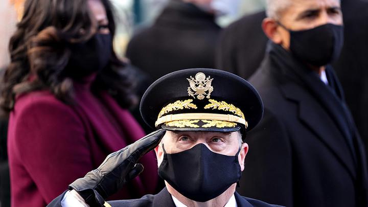 В США войско взбунтовалось: Говорят, президент ненастоящий геополитика