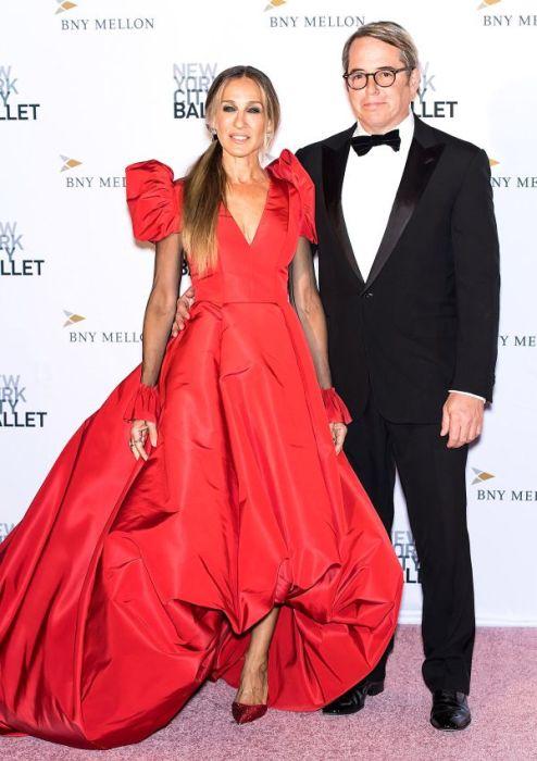 Сара Джессика Паркер и Мэттью Бродерик. / Фото: www.glamour.ru