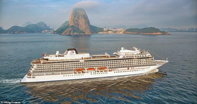 25. Еще одно место, которое посещают пассажиры лайнера Viking Sun - Рио-де-Жанейро в Бразилии красиво, красивые места, круиз, круизы, мир, паром, путешествия, фото
