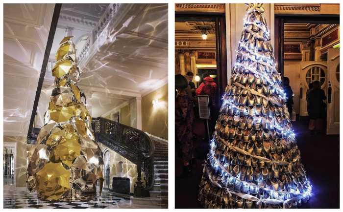Как представители разных профессий нарядили новогоднюю ёлку