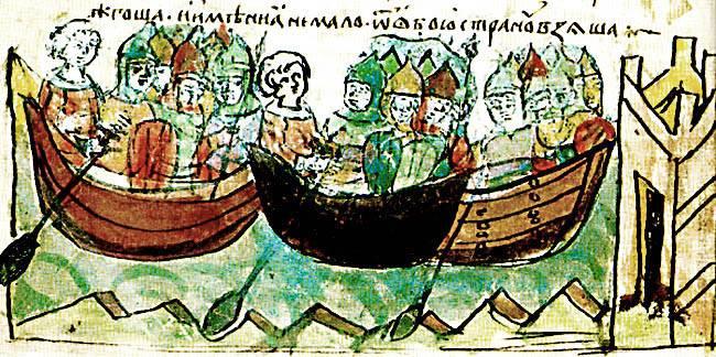 «Идут русские, нет числа кораблям их, покрыли море корабли!» история