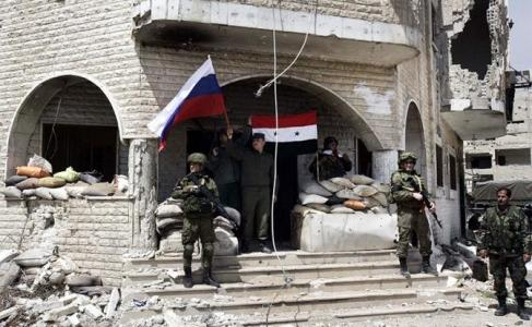Война в Сирии: Русских солда…