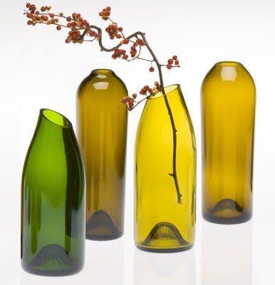 Удивительные вещи из винных бутылок