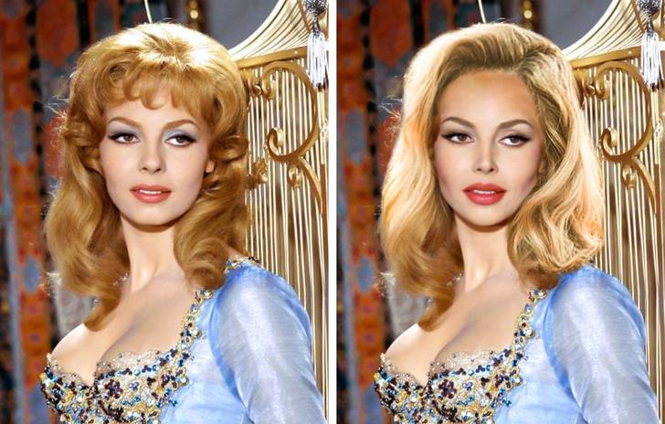 Вивьен Ли, Мишель Мерсье, Коко Шанель... Если бы звезды прошлого соответствовали сегодняшним стандартам, как бы они выглядели: фото