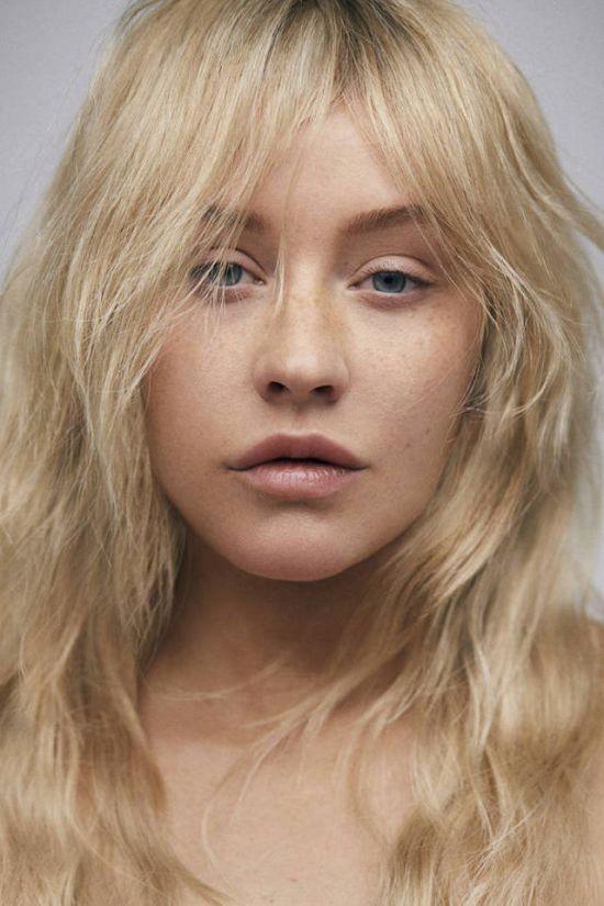 Как выглядит Кристина Агилера без макияжа