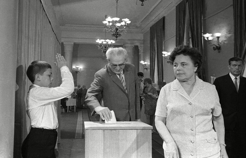 Стабильное единодушие: как проходили выборы в СССР выборы,интересное,история,СССР,фотография